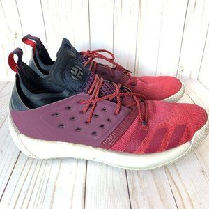 Adidas HARDEN VOL. 2 Athletic Shoes Ruby Red SZ 15